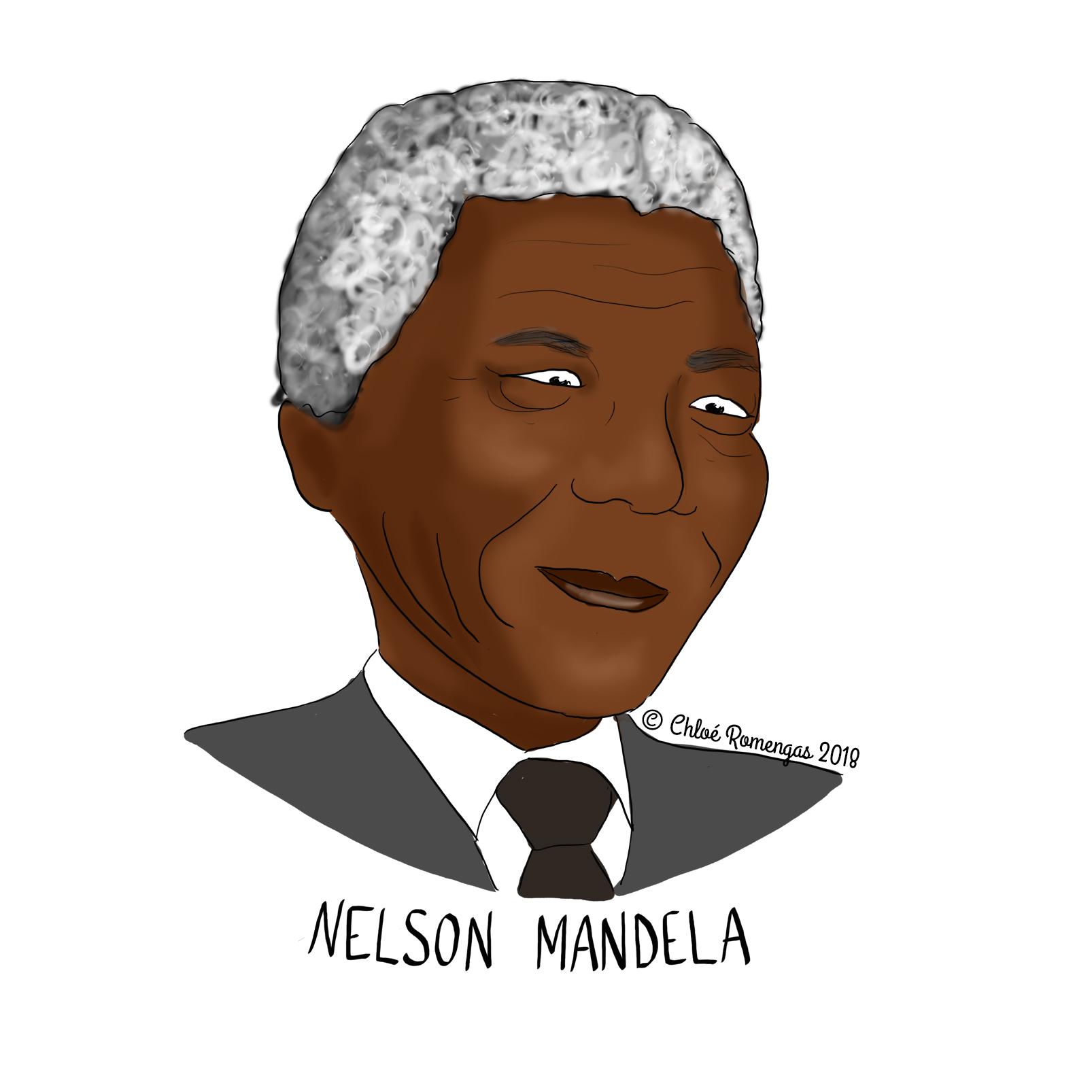 Portrait – Nelson Mandela