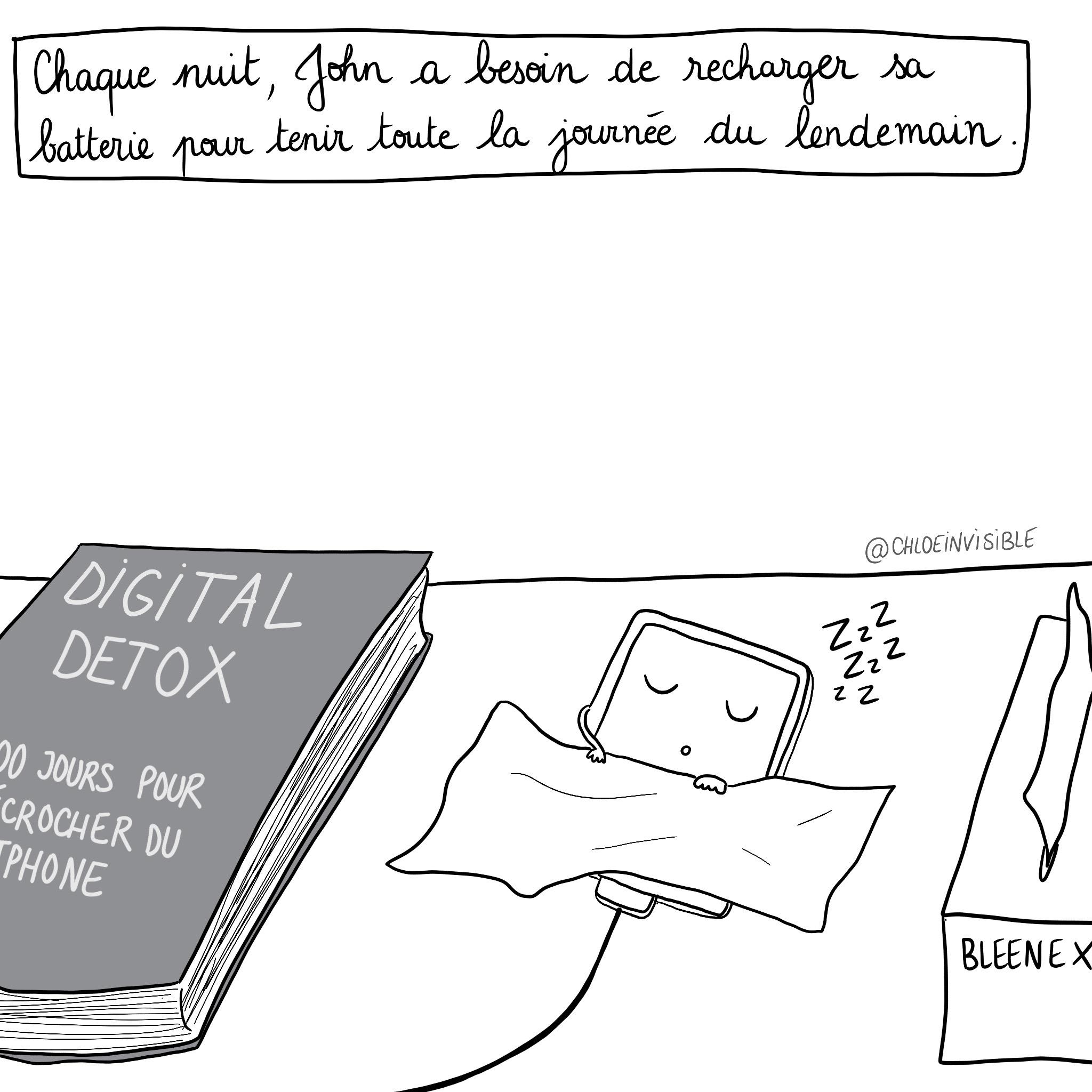 BD – Fatigue VS Fatigue Chronique